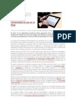 La formación y el iPad