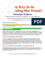 Expressing the Trust is the Key-Christian Walters