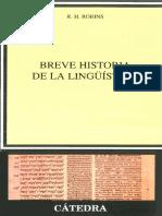 Breve historia de la lingüistica - R.H Robin.pdf