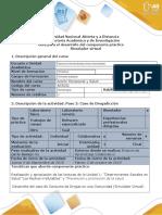 Guía Para El Desarrollo Del Componente Práctico - Simulador Virtual