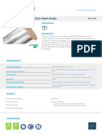 CLIMACOUSTIC® EXTERNAL DUCT WRAP (FACED)