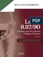 Leia Algumas Paginas Da Obra Lei 811290 Estatuto Dos Servidores Publicos Federais