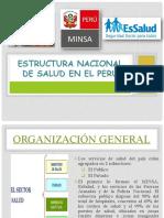 Estructura Nacional de Salud en El Perú