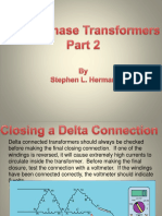 3-Phase Transformers Part 2
