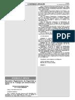 Reglamento de SSO Con Electricidad, 2013
