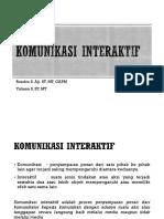 Komunikasi Interaktif