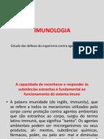 Imunologia Aula 1 - Imunidade Inata