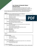 5 Contoh Program Literasi Di Sekolah Dalam Pelaksanaan Kurikulum 2013