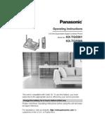 Manual for Panasonic KXTG5561