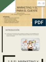 El Marketing y El Valor Para El Cliente