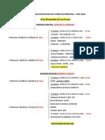 Original_Rodizio Disciplinas 1º Sem. 2012 Medicina