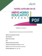 Formato propuesta AUTONOMÍA CURRICULAR (1)