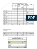 Accounting financial statement example
