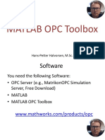 Matlab Opc Toolbox Video