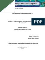 EJEMPLO Evidencia 2 Cuadro Comparativo Tecnologias de La Informacion y La Comunicacion