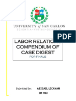 Labor Relations Finals