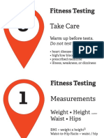 Fitness Testing Signs