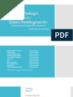 Air Pedingin Dan Sistem Pendinginan Air