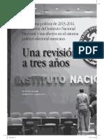 Articulo La reforma política de 2013-2014