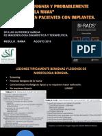 Lesiones Benignas y Tipicamente Benignas