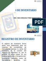 Registro de Inventario