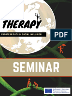 Programmheft Fachseminar Art Therapy EU Erasmus Project an European Path of Social Inclusion U BerBru Cken 2018