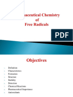 Pharmaceutical Chemistry of Free Radicals