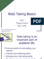 Note Taking Basics.ppt
