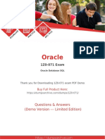 1Z0-071 Exam Dumps | 100% Updated 1Z0-071 Questions PDF