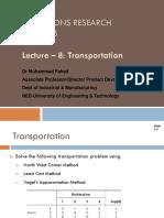 Lecture 10 - Transportation-practice_27!8!18