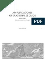 Amplificadores Operacionales Cmos v2017