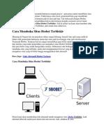 Cara Membuka Situs Sbobet Terblokir