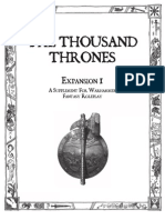 Warhammer FRP - The Thousand Thrones Expansion 1