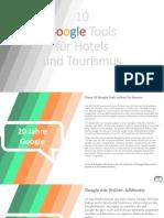 10 Google Tools für Hotels & Tourismus