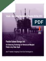 Kongsberg Subsea Storage Unit