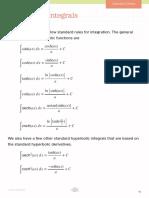 Hyperbolic Integrals