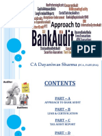 1. Approach to Bank Audit DNS 17 18 Final