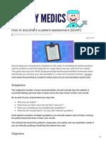 geeky medics documentation