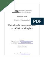 Estudio de movimientos armónicos simples. Baigorria, Barraza, Guevara. UNTREF