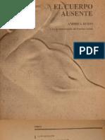 El cuerpo ausente - Andrea Rodo