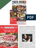 "Kuta Weekly - Edition 588 ""Bali's Premier Weekly Newspaper"""