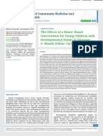 The Effects of a Home-Based Intervention for Young Children with Developmental Delays in Vietnam