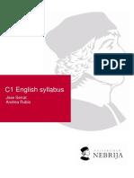 C1 Syllabus