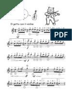 Gatto Con Il Violino