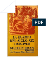 Bruun Geoffrey - La Europa Del Siglo XIX (1815 - 1914)
