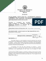 Roy v Herbosa - Dissenting Opinion Mendoza