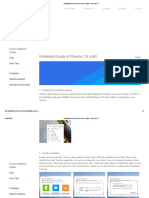 Installation Guide of Phoenix OS (x86) - Phoenix OS