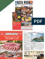 "Kuta Weekly - Edition 592 ""Bali's Premier Weekly Newspaper"""