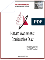 Combustible Dust Awareness