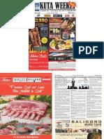 "Kuta Weekly - Edition 596 ""Bali's Premier Weekly Newspaper"""